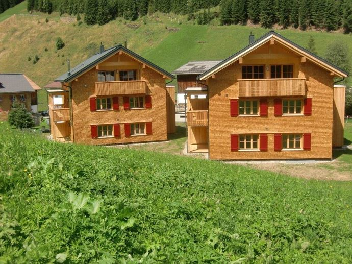 Alpin Chalets Frontansicht